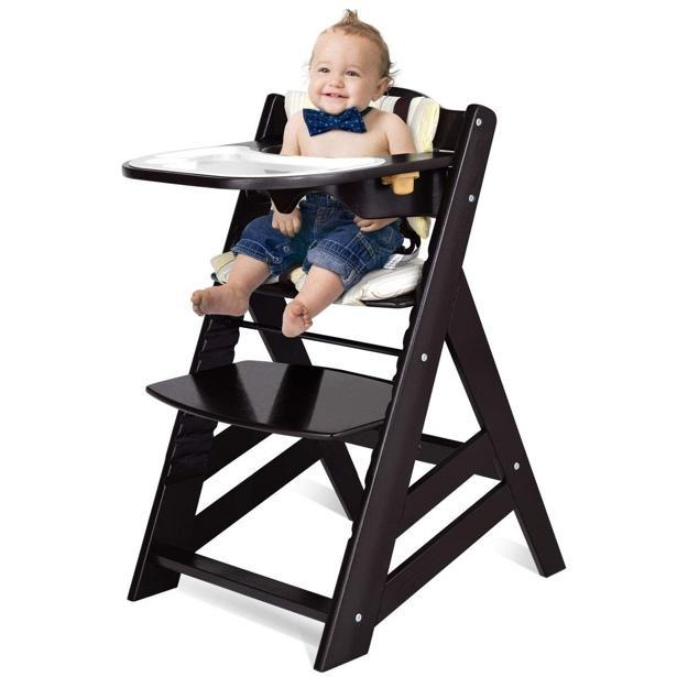 how to choose the best high chair Costzon Wooden Highchair