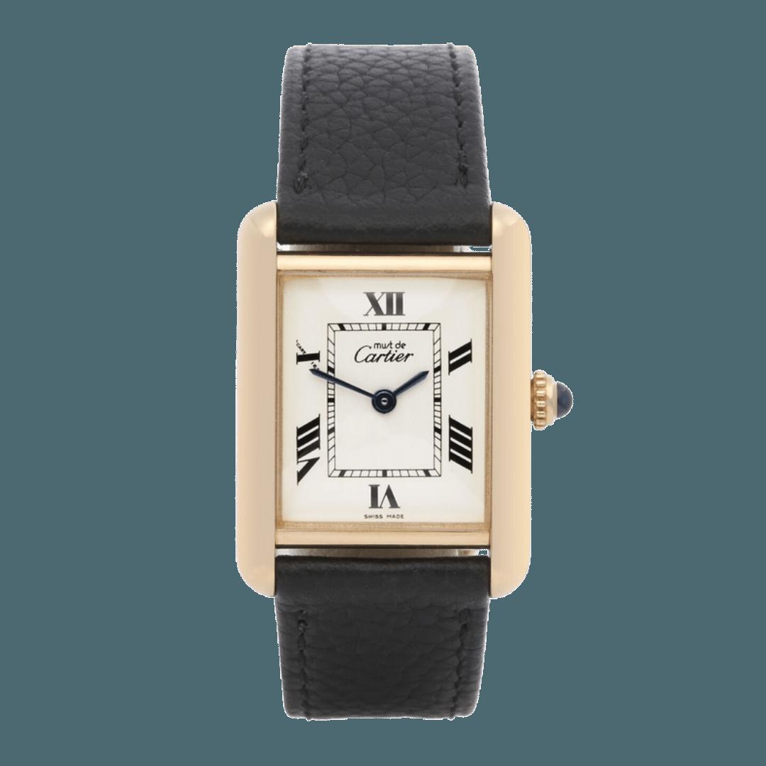 Photo of a Must de Cartier Tank watch