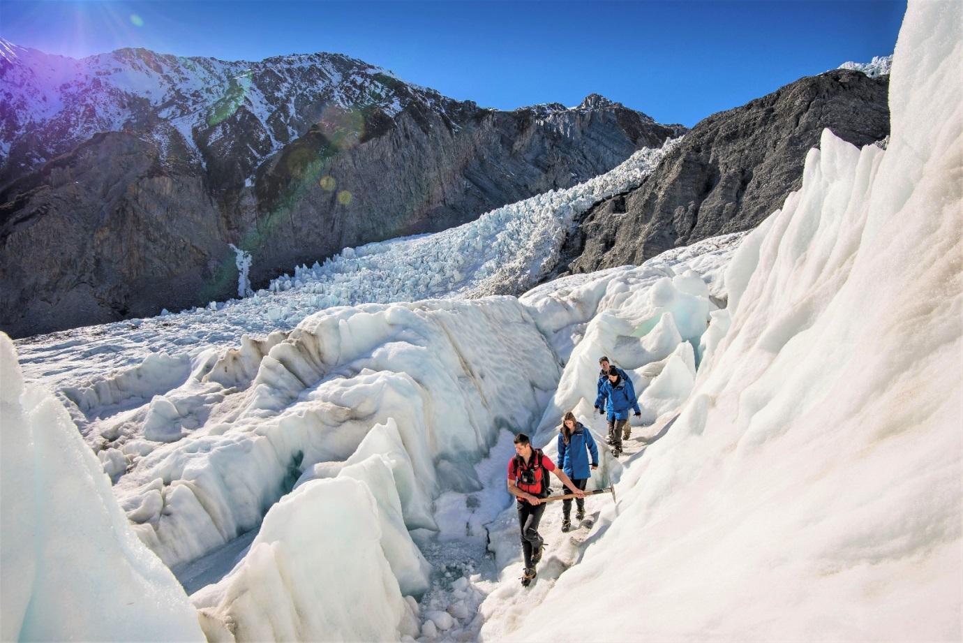 Du lịch tại thung lũng băng hà Fox Glacier