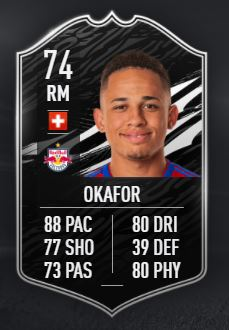 FIFA 21 Okafor Team of the Week