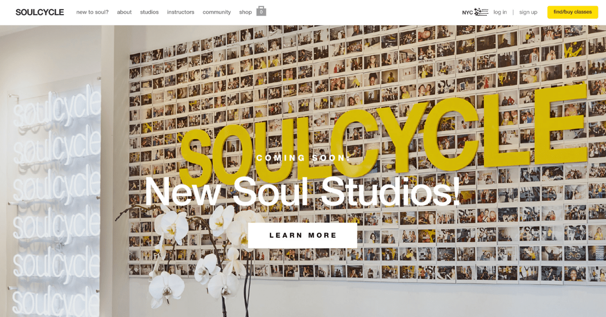 soulcycle website