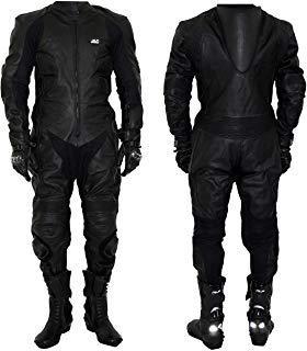 Mono de motociclismo, de piel, para pista de carreras JLP (talla M)