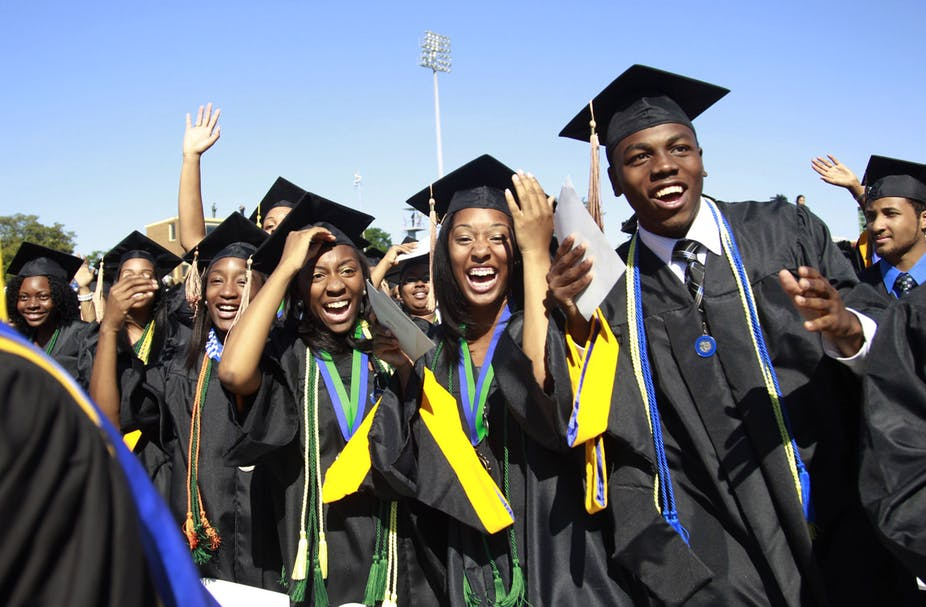 Image result for black kids graduating