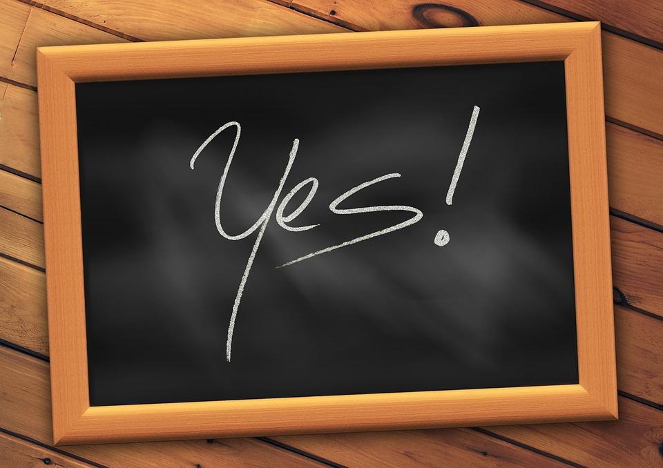https://pixabay.com/en/yes-board-school-font-education-593834/