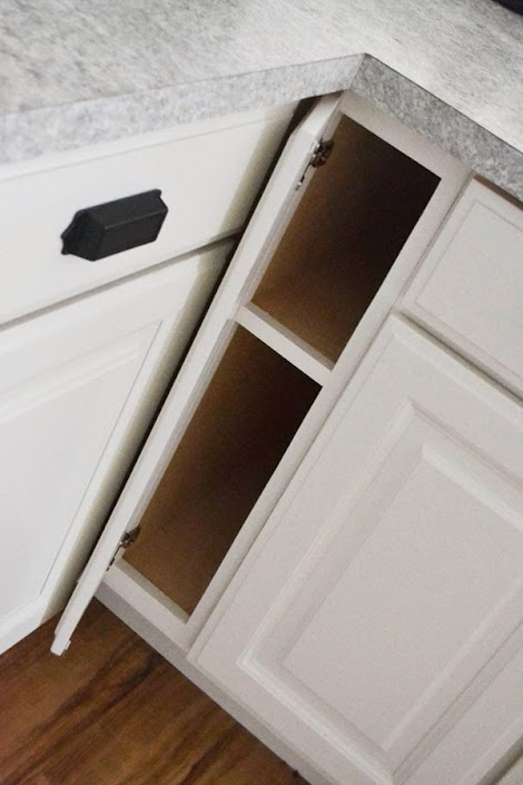 "Ana White | 6"" Filler Tray Base Cabinet - Momplex Vanilla ..."