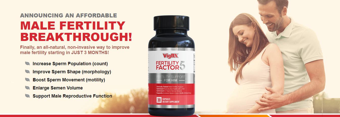 Fertility Factor 5 - Male Fertility Booster. Source: www.fertilityfactor5.com