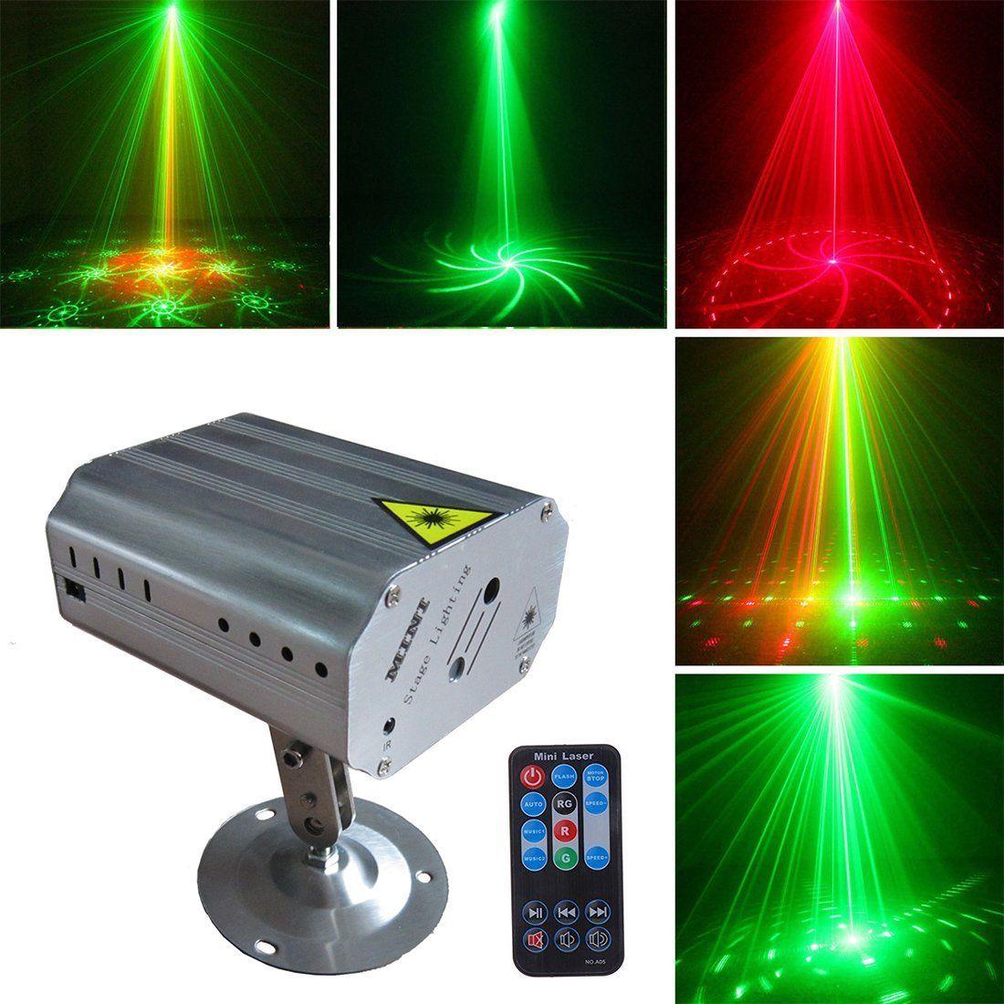 3608ed083d3 Profesional Luces Láser Para Fiestas Proyector Luz de DJ - Bailando Navidad  CLUB