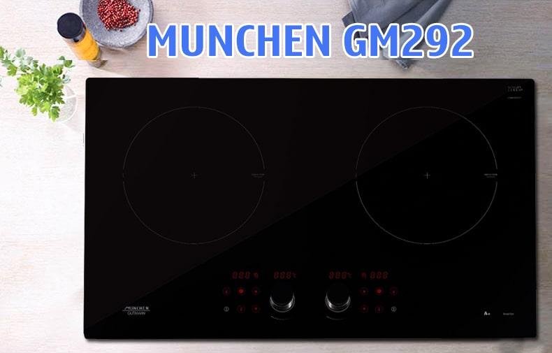 Bếp Munchen GM 292 với công nghệ hiện đại