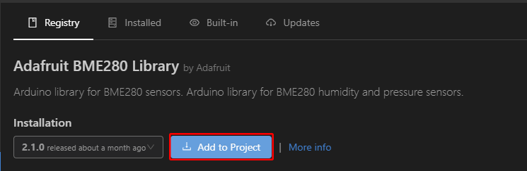 Add to Project