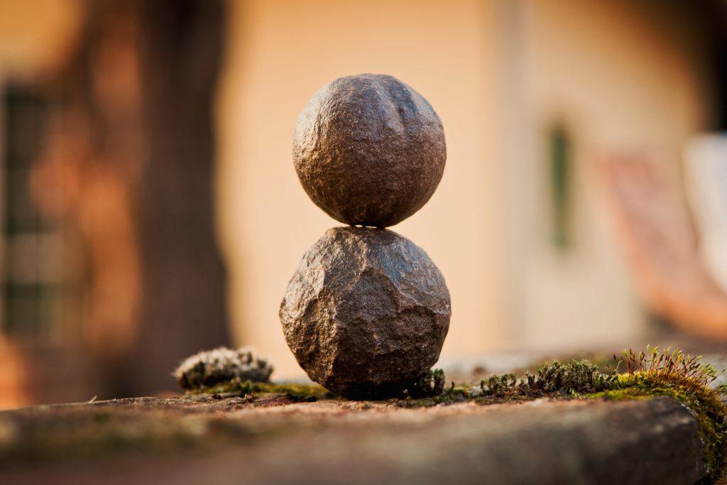 Баланс во время медитации