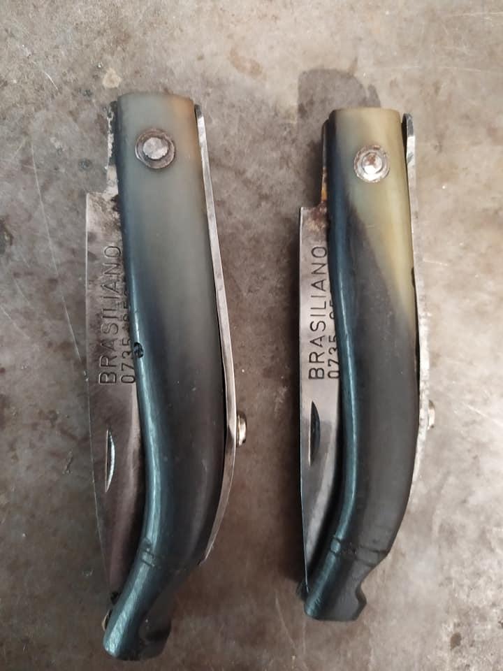 Due coltelli da pescatore