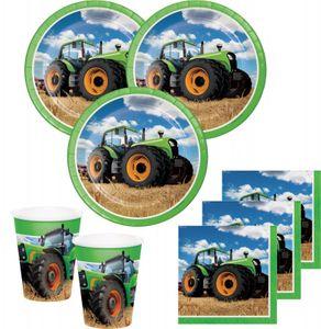 Traktorpartygeschirr zum Kindergeburtstag
