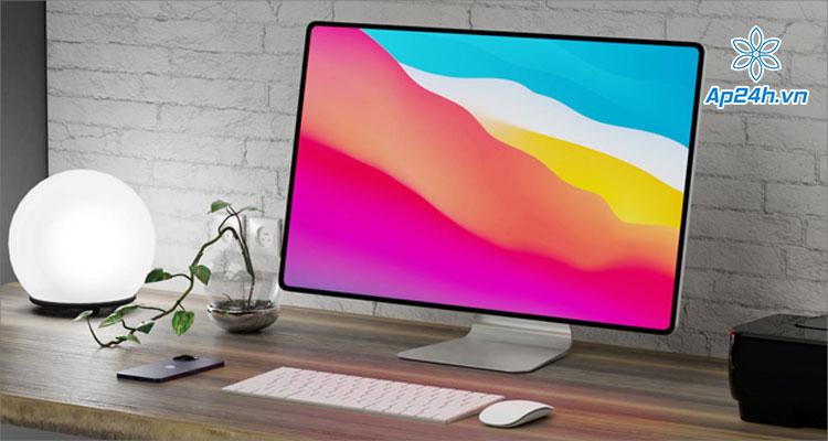 Một thiết kế iMac 2021 do iFan thực hiện