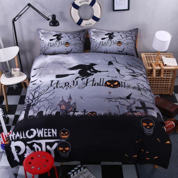 Halloween Bedding Sets Ideas
