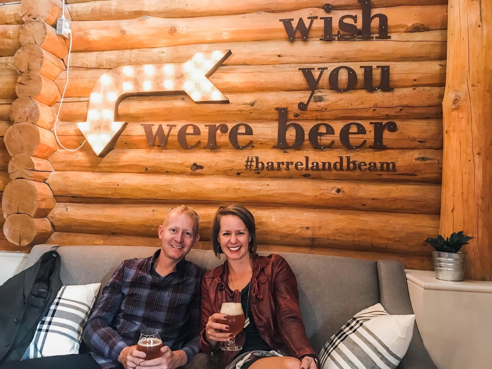Barrel and Beam brewery in Marquette on Michigan's Upper Peninsula