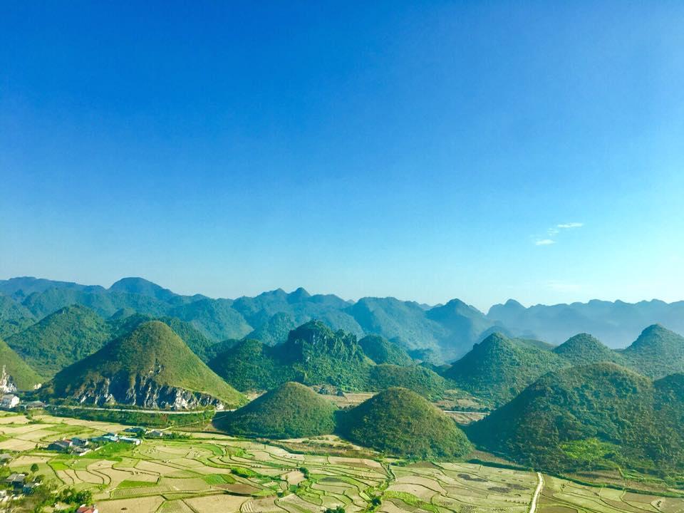 Khung ảnh hùng vĩ của Hà Giang