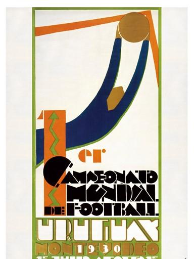 ১৯৩০ ফুটবল বিশ্বকাপের পোস্টার
