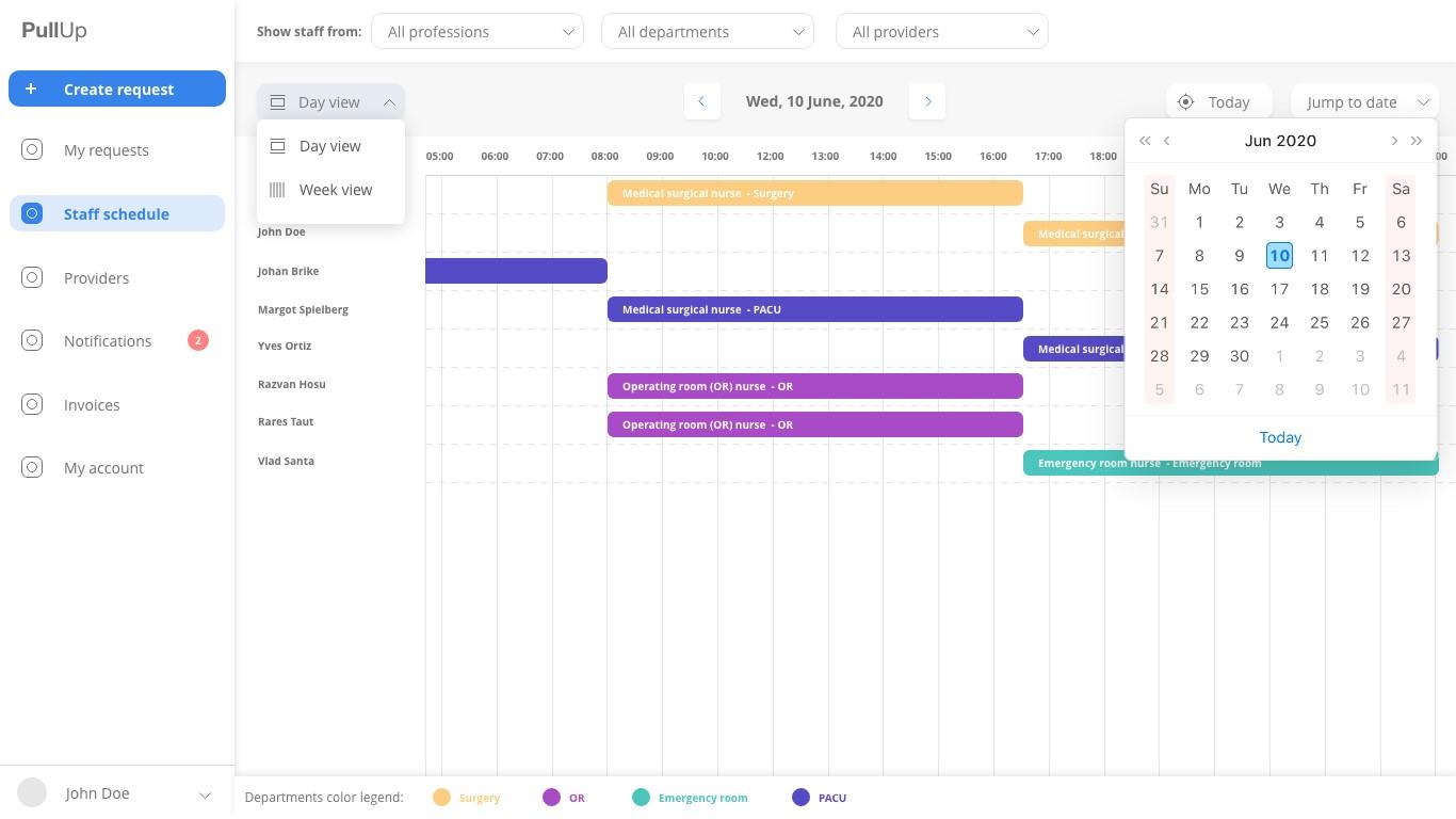 Kundenportal für Personaldienstleister Screenshot 2