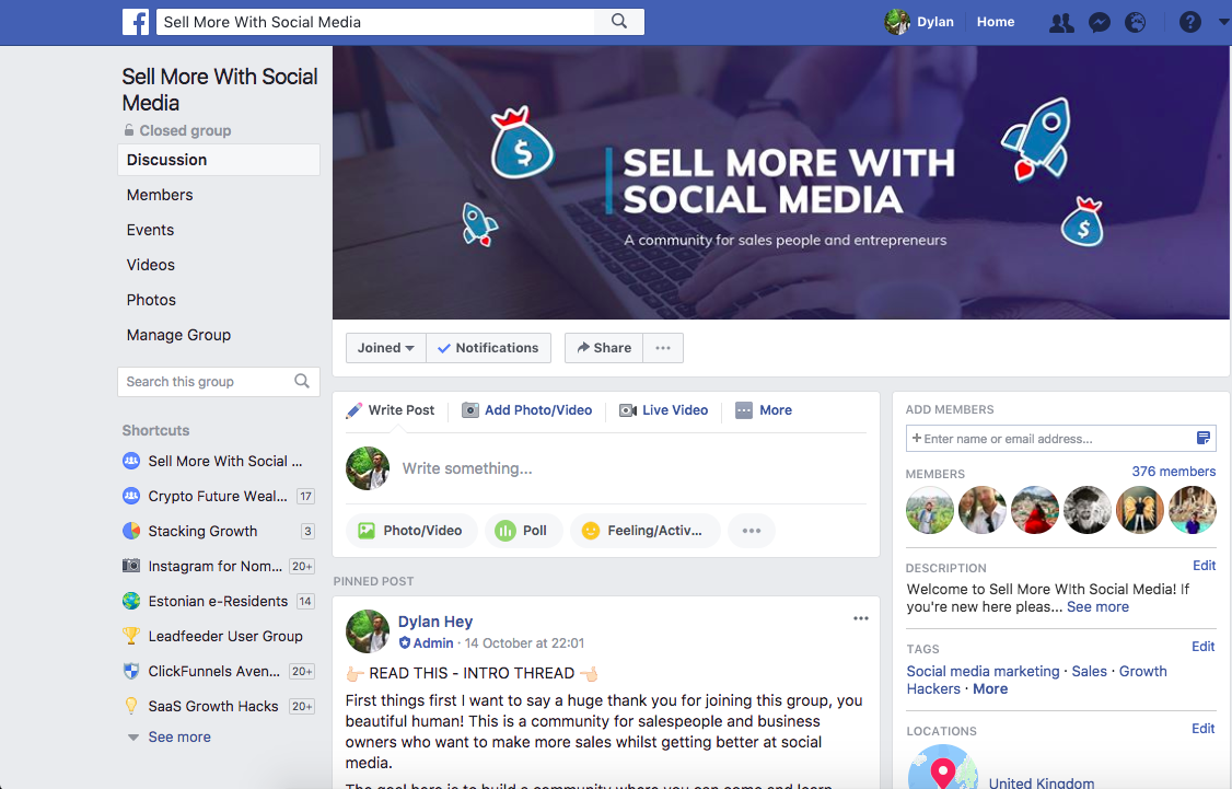 social selling ideas