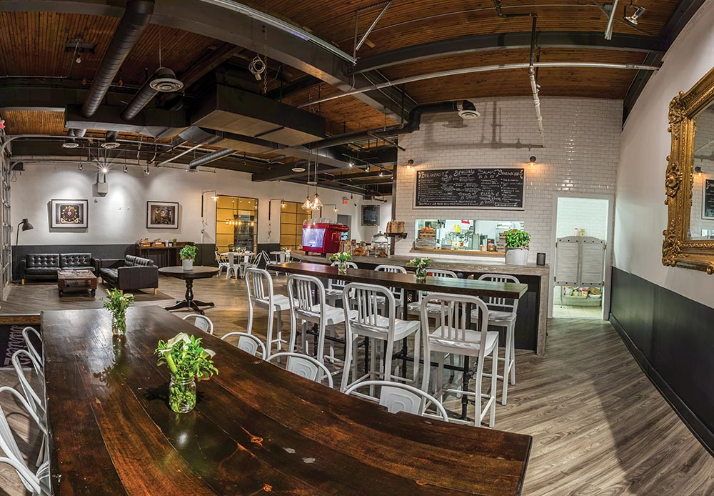 District 28 Coworking Space in Toronto
