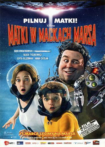 Przód ulotki filmu 'Matki W Mackach Marsa'