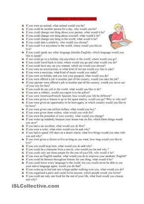 Soal Essay Conditional Sentences Type 2