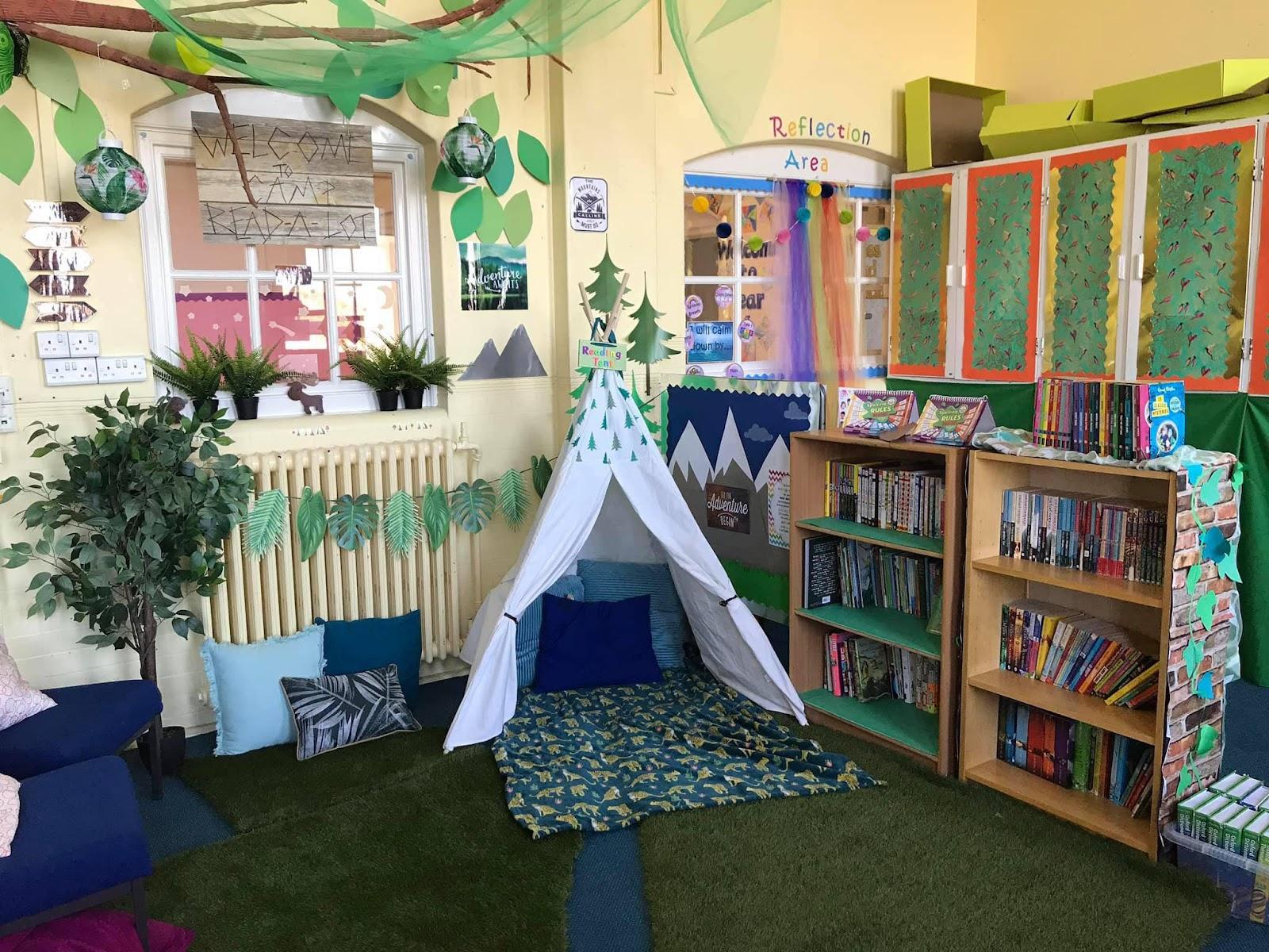 Місце в класі для усамітнення і читання