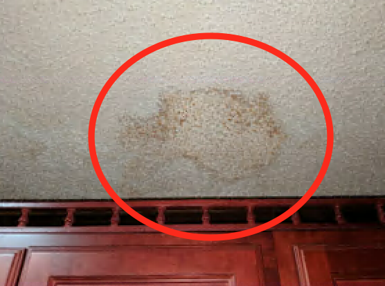 Ceiling leak from condensation in the attic