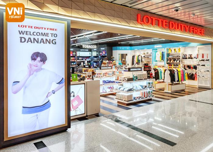 danang airport duty free stores