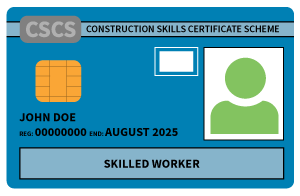 Qualification to gain your CSCS card