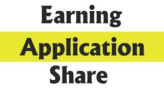 Earning App Share