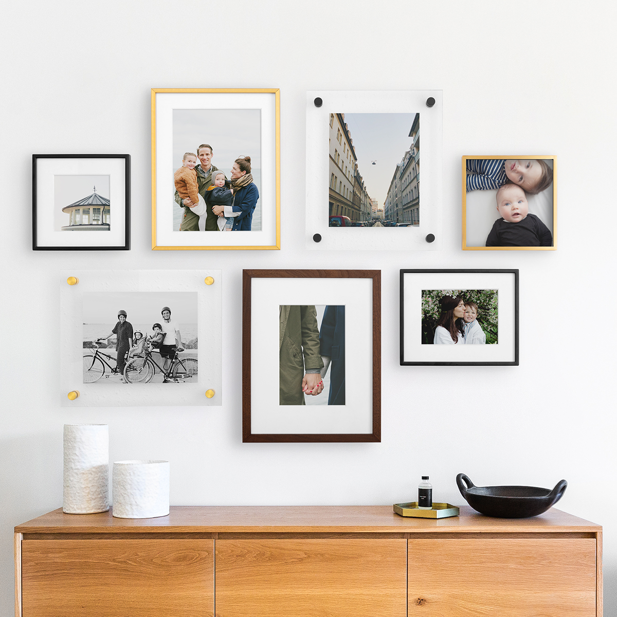 Create A Family Gallery Wall Art