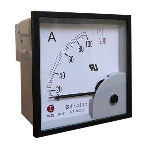 Đồng hồ đo dòng điện (Ampe kế) BE-96 100/5A Taiwan Meter