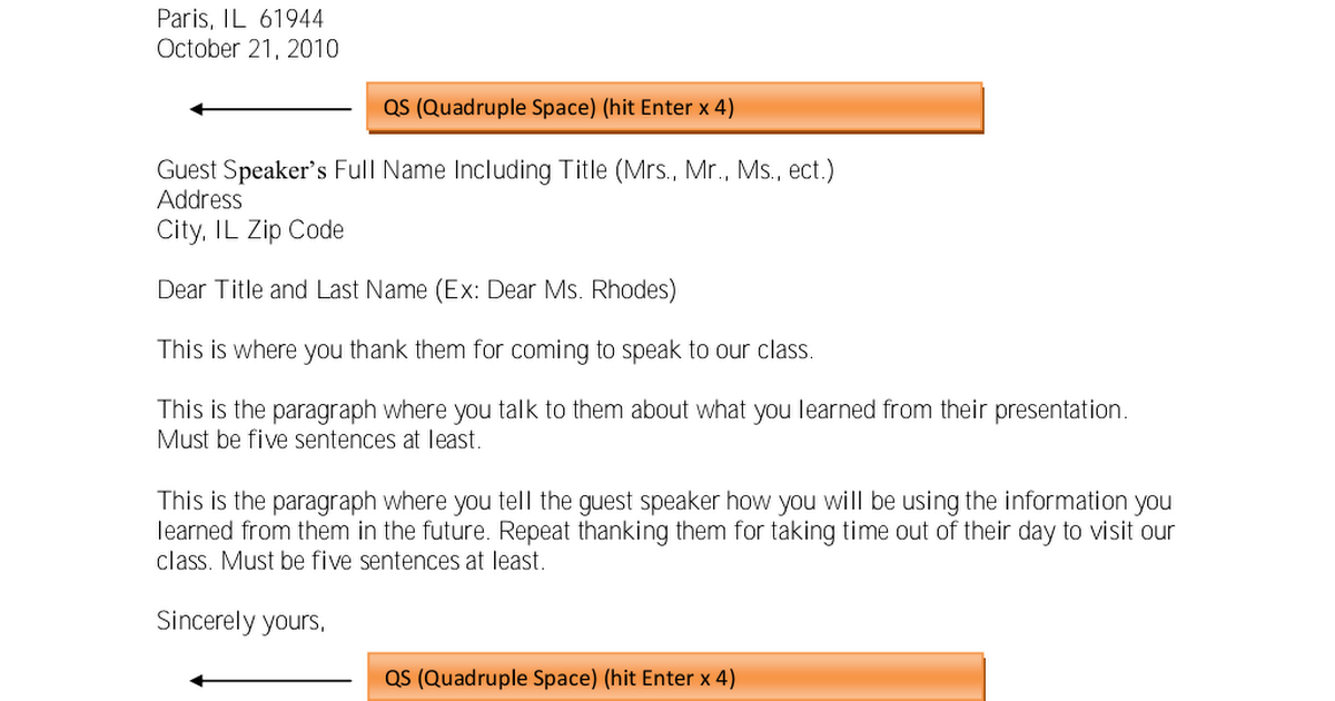 Practice Thank You Letter Pdf Google Drive