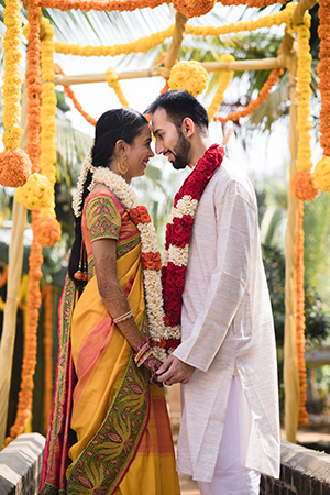 Traditional South Indian Wedding With A Modern Twist