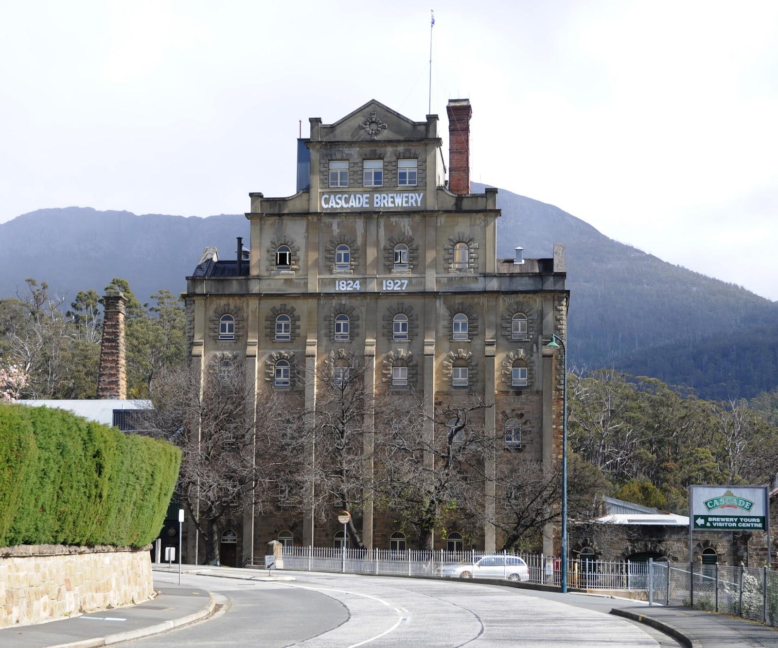 Cycling Mt. Wellington - Cascade Brewery