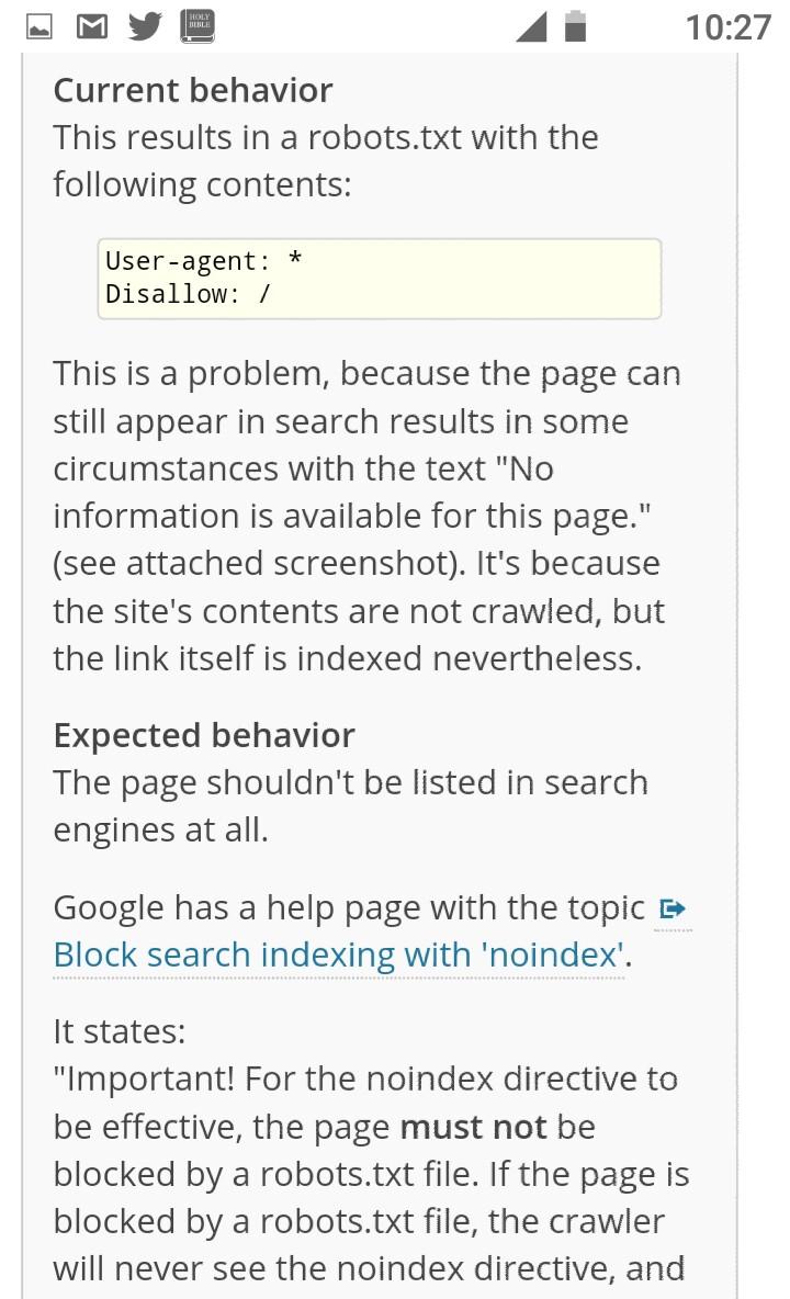 Cambios en la versión de WordPress 5.3 evitará que el sitio web sea Indexado 3