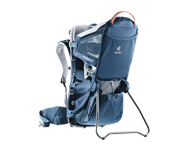 Product shot of a Deuter Kid Comfort Active child carrier pack