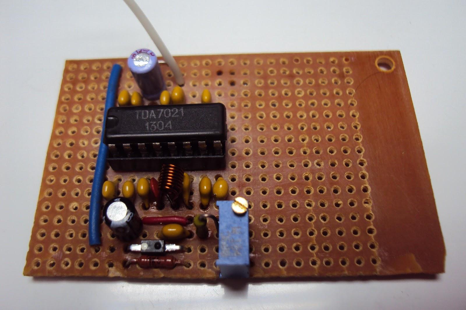 схема многодиапазонного приёмника на ta8164
