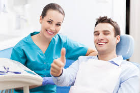 Image result for happy patient dentist