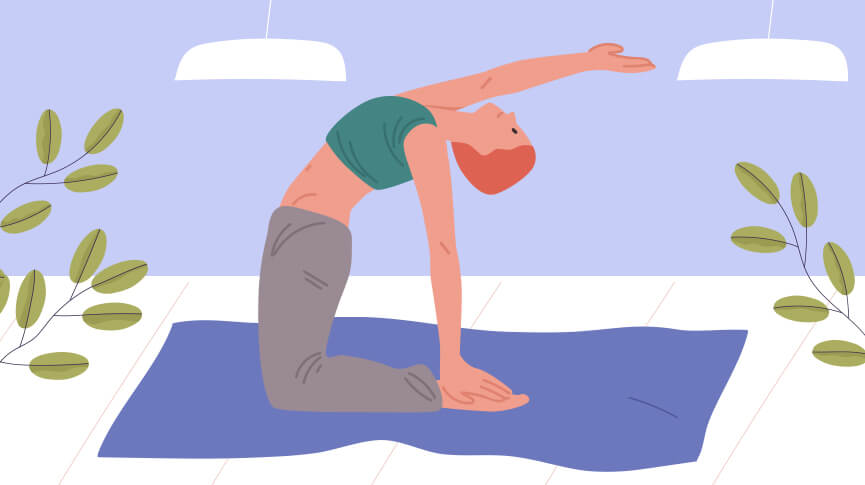 Camel Pose Yoga