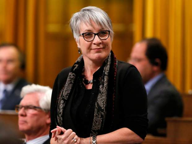 Minister of Status of Women Patty Hajdu stands in the House of Commons during question period, in Ottawa on Friday, December 9, 2016.