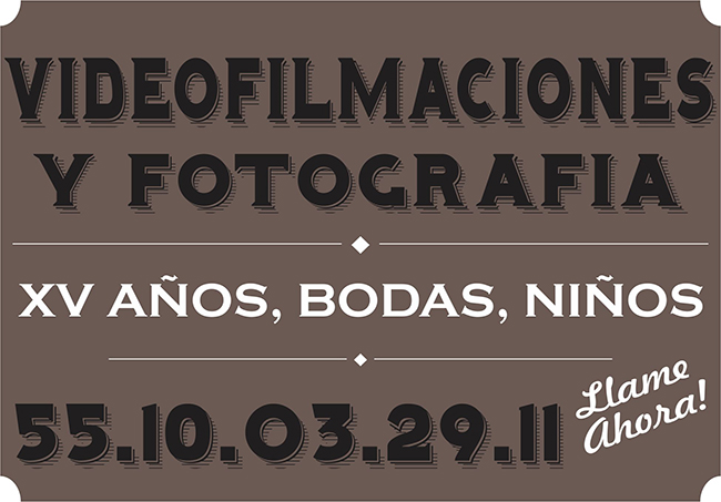 video filmaciones y fotografia