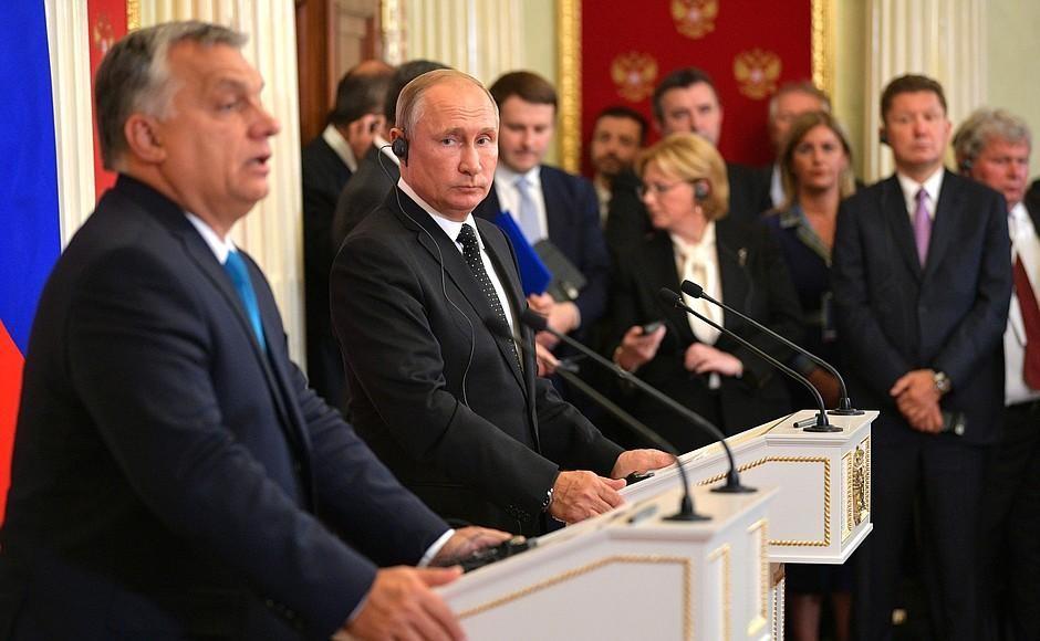 Росія уміло використовує «фантомні болі» угорської верхівки