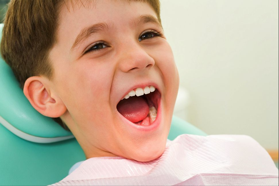 kid dental checkup