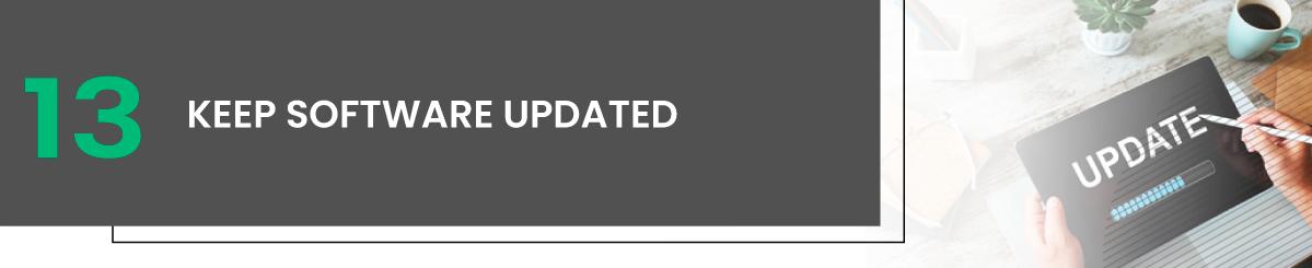Keep Software Updated linux vps hosting
