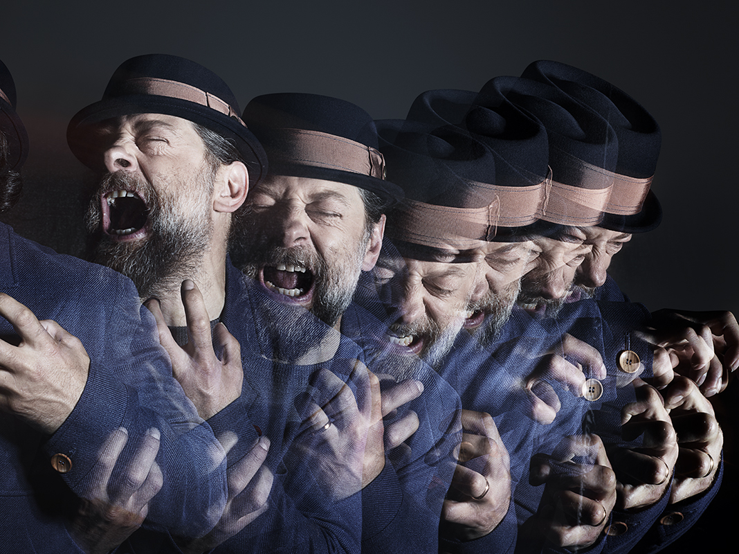 Portrait of actor Andy Serkis by Rankin