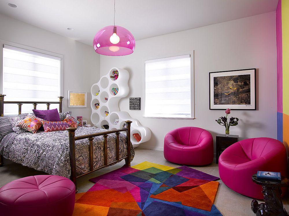 Create a Hangout Spot with Sofas Teen Girl Bedroom Ideas