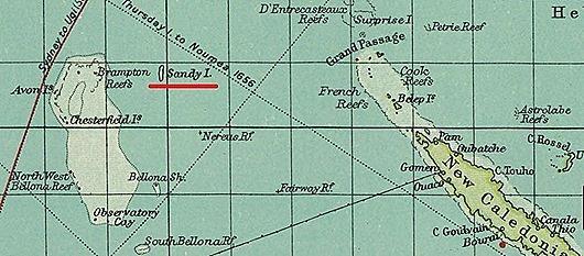 Остров Сэнди