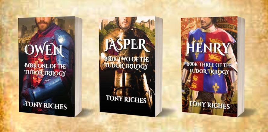 Tony Riches' Tudor Trilogy